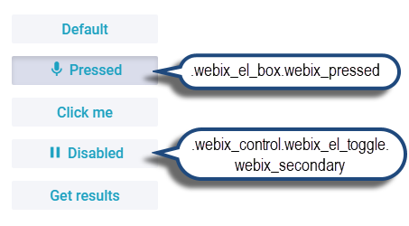 Webix Toggle CSS map